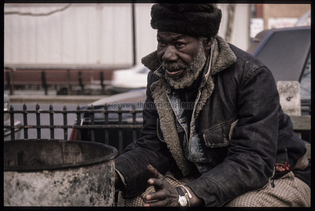 old man in the street nyc